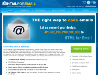 htmlforemail.com screenshot