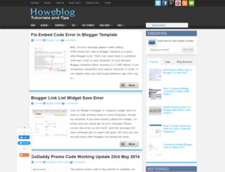 htmlmaker.blogspot.com screenshot
