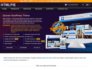 htmlpie.com screenshot