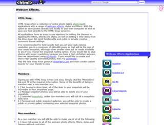 htmlsnap.com screenshot