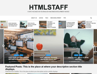htmlstaff.org screenshot