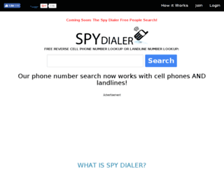 http.spydialer.com screenshot