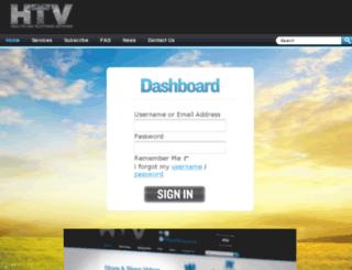 htvdashboard.com screenshot