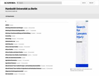 hu-berlin.academia.edu screenshot