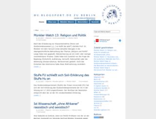 hu.blogsport.de screenshot