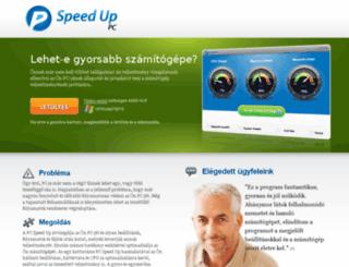 hu.pcspeedup.me screenshot