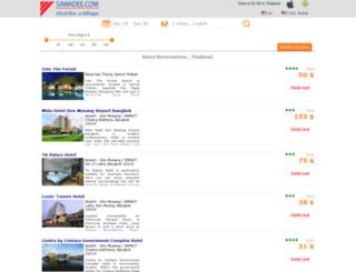huahin.sawadee.com screenshot