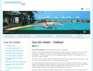 huahinhotels.info screenshot