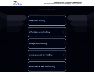huajianlei.forums-free.com screenshot