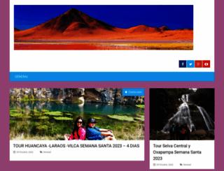 huancayaperu.com screenshot