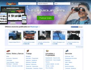 huancayo.doplim.com.pe screenshot