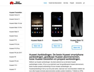 huaweiaanbieding.nl screenshot
