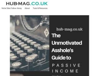 hub-mag.co.uk screenshot
