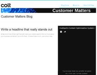 hub.colt.net screenshot
