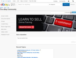 hub.ebay.in screenshot