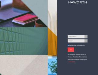 hub.haworth.com screenshot