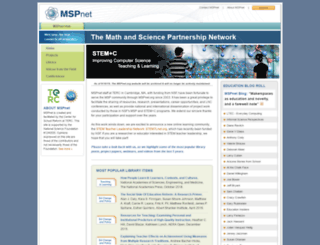 hub.mspnet.org screenshot
