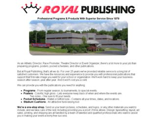 hub.royalpublishing.com screenshot