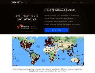 hub.turnkeylinux.org screenshot