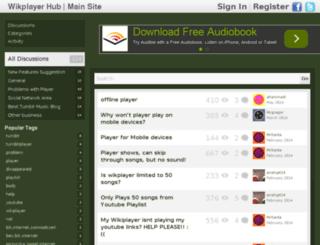 hub.wikplayer.com screenshot