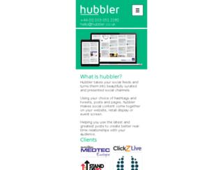 hubbler.co.uk screenshot