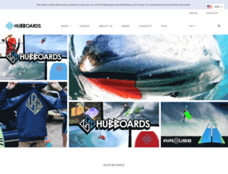 hubboards.com screenshot