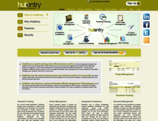 hubentry.com screenshot