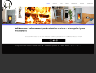 huberofen.com screenshot