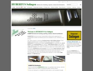 hubertus-solingen.de screenshot
