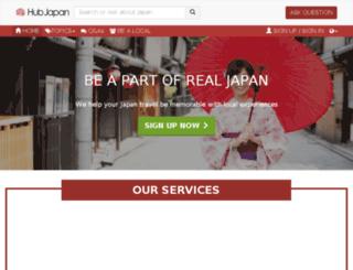 hubjpn.com screenshot