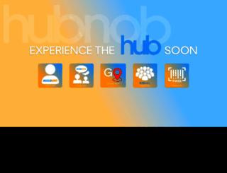 hubnob.com screenshot