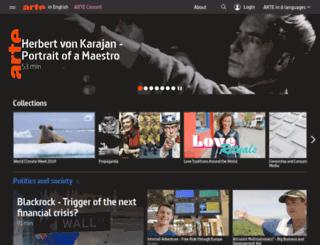 hubotmarket.arte.tv screenshot