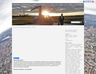 hubschrauber-nrw.de screenshot