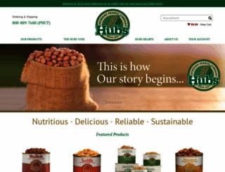 hubspeanuts.com screenshot