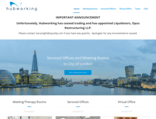 hubworking.net screenshot
