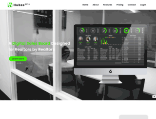 hubze.com screenshot
