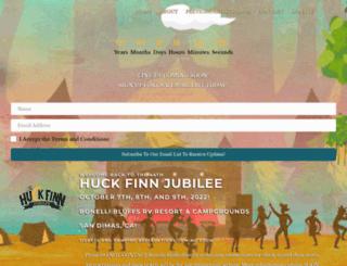 huckfinn.com screenshot