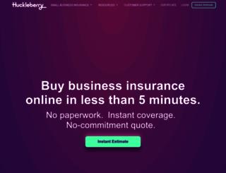 huckleberry.com screenshot