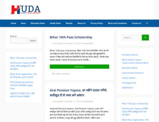 huda.org.in screenshot