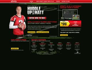huddleupwithmatt.com screenshot
