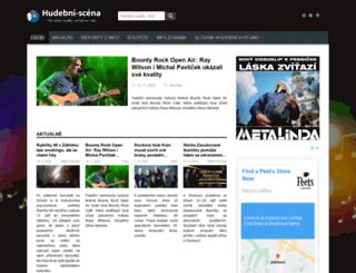 hudebni-scena.cz screenshot