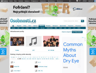hudebniskupiny.cz screenshot