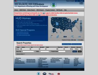 hudhomestore.com screenshot