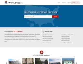 hudhouses.com screenshot