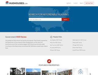 hudhouses.foreclosure.com screenshot