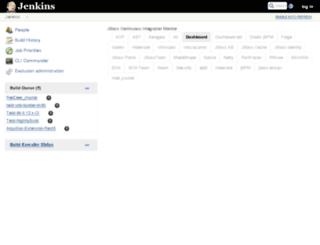 hudson.jboss.org screenshot