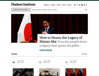 hudson.org screenshot