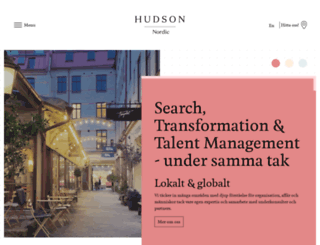 hudson.se screenshot