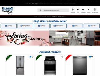 hudsonappliance.com screenshot