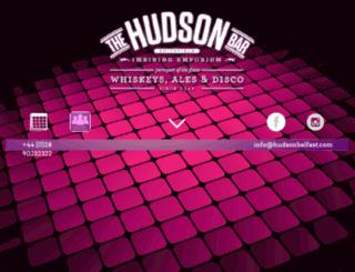 hudsonbelfast.com screenshot